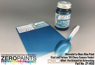Chevrolet Le Mans Blue Paint 60ml - Zero Paints