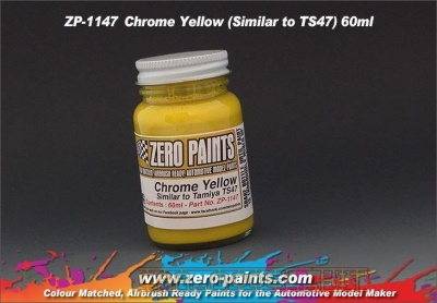 Chrome Yellow (TS47) - Zero Paints