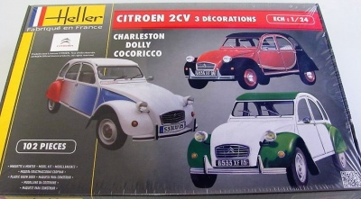 Citroen 2CV Decorations Speciales - Heller