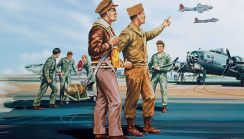 Classic Kit VINTAGE figurky A00748V - USAAF Personnel (1:76)- Airfix