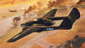 Classic Kit VINTAGE letadlo A04006V - Northrop P-61 Black Widow (1:72)