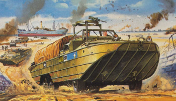 Classic Kit VINTAGE military A02316V - DUKW (1:76) – Airfix