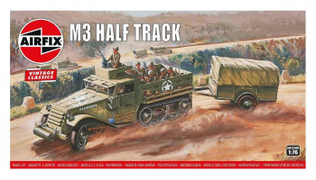 Classic Kit VINTAGE military A02318V - M3 Half Track & 1 Ton Trailer (1:76) – Airfix