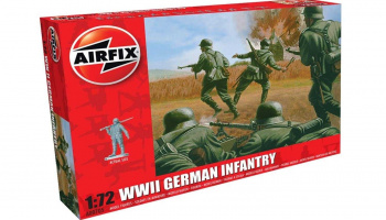 Classic Kit figurky A00705 - WWII German Infantry (1:72)