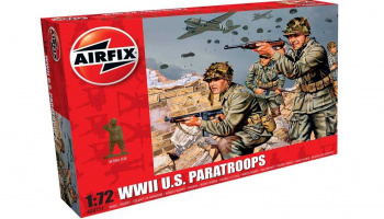 Classic Kit figurky A00751 - WWII US Paratroops (1:72) – Airfix