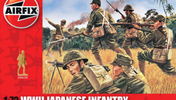 Classic Kit figurky A01718 - WWII Japanese Infantry (1:72)