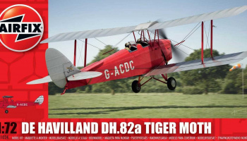 Classic Kit letadlo A01024 - de Havilland Tiger Moth (1:72)