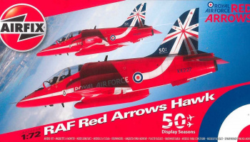 Classic Kit letadlo A02005B - Red Arrows Hawk (1:72)