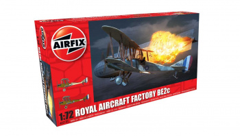Classic Kit letadlo A02101 - Royal Aircraft Facility BE2C (1:72) - Airfix