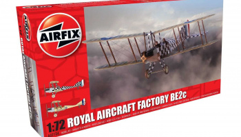 Classic Kit letadlo A02104 - Royal Aircraft Factory BE2c Scout (1:72)