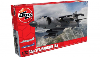 Classic Kit letadlo A04052A - BAe Sea Harrier FA2 (1:72) – Airfix