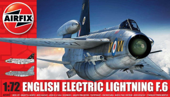 Classic Kit letadlo A05042 - English Electric Lightning F6 (1:72)