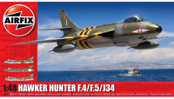 Classic Kit letadlo A09189 - Hawker Hunter F.4/F.5/J.34  (1:48)