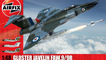 Classic Kit letadlo A12007 - Gloster Javelin (1:48) - Airfix