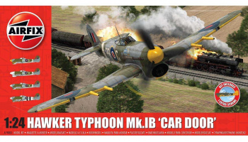 Hawker Typhoon 1B - Car Door (plus extra Luftwaffe scheme) (1:24) Classic Kit A19003A - Airfix