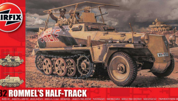Classic Kit military A06360 - Rommel's Half Track (1:32)