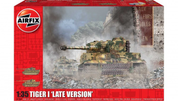 Tiger-1 Late Version (1:35) Classic Kit A1364 - Airfix