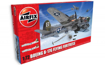 Classic Kit letadlo A08017 - Boeing B-17G FLYING FORTRESS (1:72)