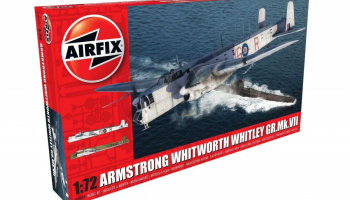 Armstrong Whitworth Whitley GR.Mk.VII (1:72) Classic Kit A09009 - Airfix