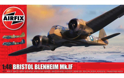 Classic Kit letadlo A09186 - Bristol Blenheim Mk.IF (1:48)