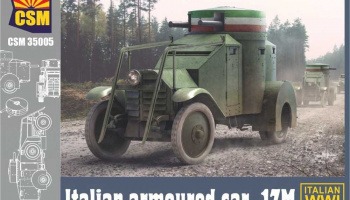 Italian Armoured Car 1ZM 1/35 - Copper State Models