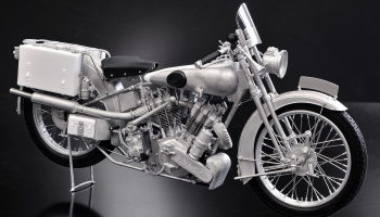 Brough Superior SS100 - 1926 Fulldetail Kit 1/9 - Model Factory Hiro