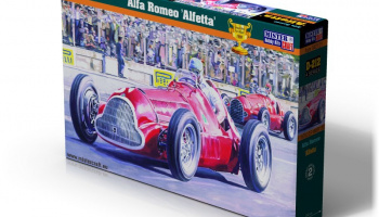 Alfa Romeo Alfetta in 1:24 - Mister Craft