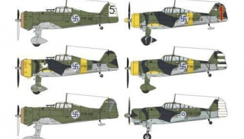 1/48 Fokker D.XXI Duo Pack Finland