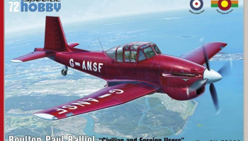 1/72 Boulton Paul Balliol Civilian and Foreign Use