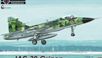 "1/72 JAS-39 Gripen ""In Swedish service"""