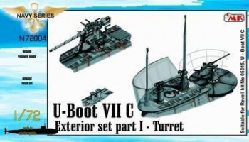 1/72 U-Boot VII Exterior set - part I - Turret for