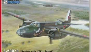 1/72 A-20B/C Boston with UTK-1 Turret