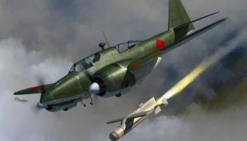 1/72 Ki-102 and I-Go rocket