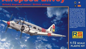 1/72 Airspeed Envoy, Cheetah engine