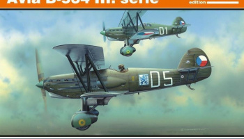 1/48 Avia B-534 III. serie (Reedition)