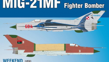MiG-21MF Fighter-Bomber 1/72 – EDUARD