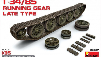 1/35 T-34/85 Running Gear. Late Type
