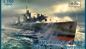 1/700 HMS Harvester 1943 British H-class destroyer