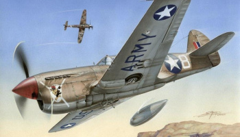 1/72 P-40 F Warhawk Short Tails over Africa