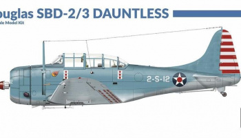 1/72 Douglas SBD 2/3 Dauntless