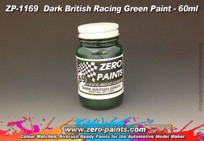Dark British Racing Green Paint - Zero Paints