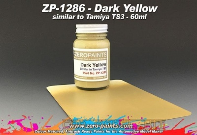 Dark Yellow (Similar to Tamiya TS3) - Zero Paints