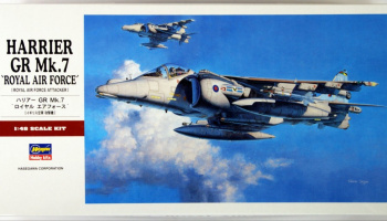 HARRIER GR Mk.7 ROYAL AIR FORCE (1:48) - Hasegawa