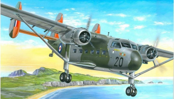 1/72 Scottish Aviation Twin Pioneer CC.Mk.I (RAF)