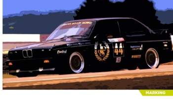BMW M3 E30 JPS Team - Decalcas