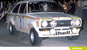 Ford Escort Mk. II - Portugal Rally - Vinho do Porto 1977 1/24 - Decalcas