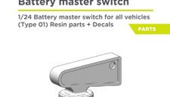 Battery master switch 1/24 - Decalcas