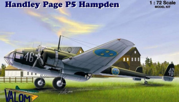 1/72 Handley Page P5 Hampden