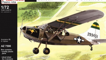 1/72 Stinson L-5 Sentinel gen.Patton,80th FG,25th LS