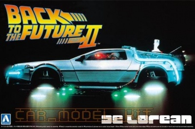De Lorean DMC - Back To The Future II - Aoshima